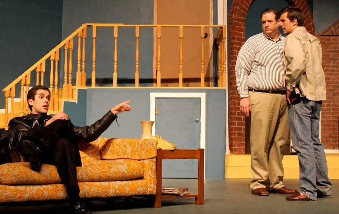 The play takes place all in  Wait Until Dark Play