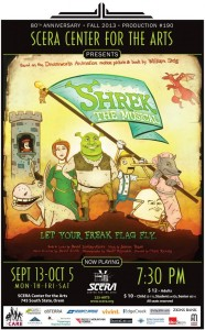 Shrek the Musical Poster Review