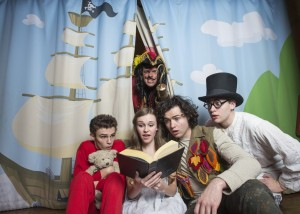Some of the cast of Peter Pan's Great Adventure.