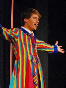 Daniel Fifield in Joseph and the Amazing Technicolor Dreamcoat 2016