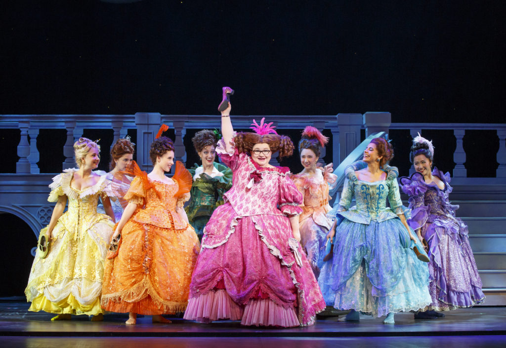 Ball gowns in Cinderella