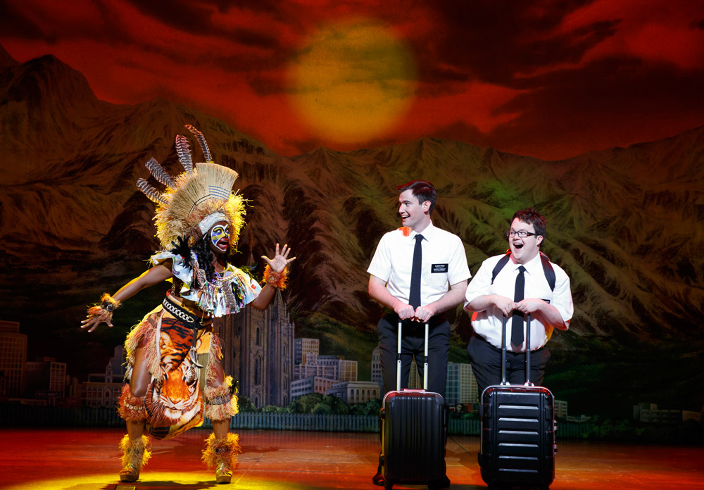 The Book of Mormon at The Eccles Theater