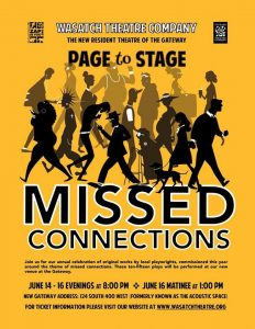Wasatch Theatre Company's Missed Connections Brings
