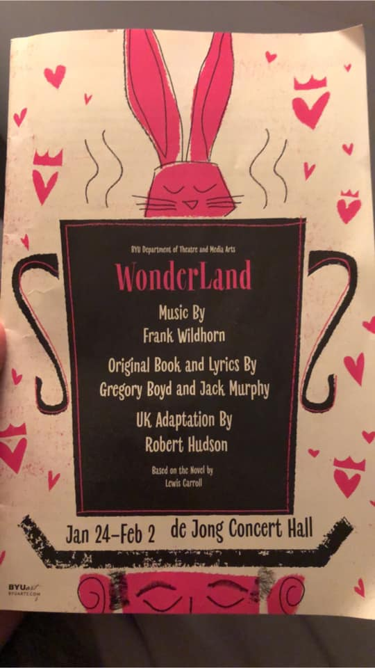 Byu S Wonderland In Provo Takes You Back To A Childhood Dreamscape Front Row Reviewers Switch orientation lyrics don't fit on one line? byu s wonderland in provo takes you